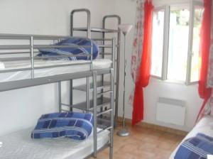 chambre 5- etage 2x2 lits 0,90x200 -etage0,90x200