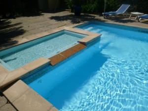 piscine petit bain enfants de 30cm de profondeur
